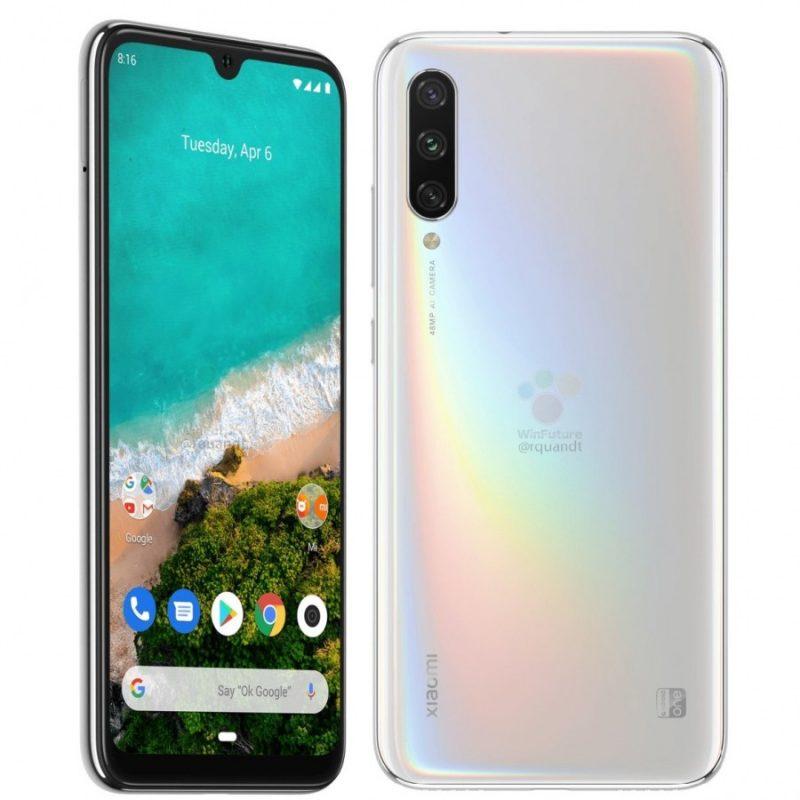Xiaomi mi A3 - White