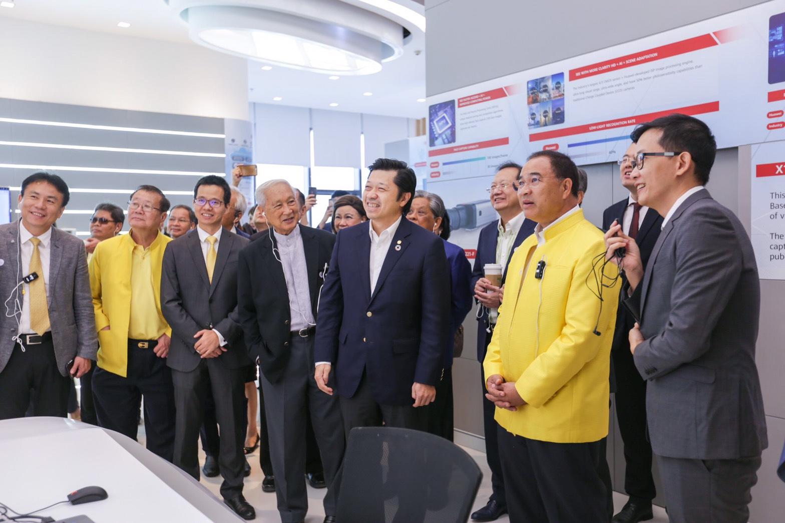 thai chamber Visit true digital park