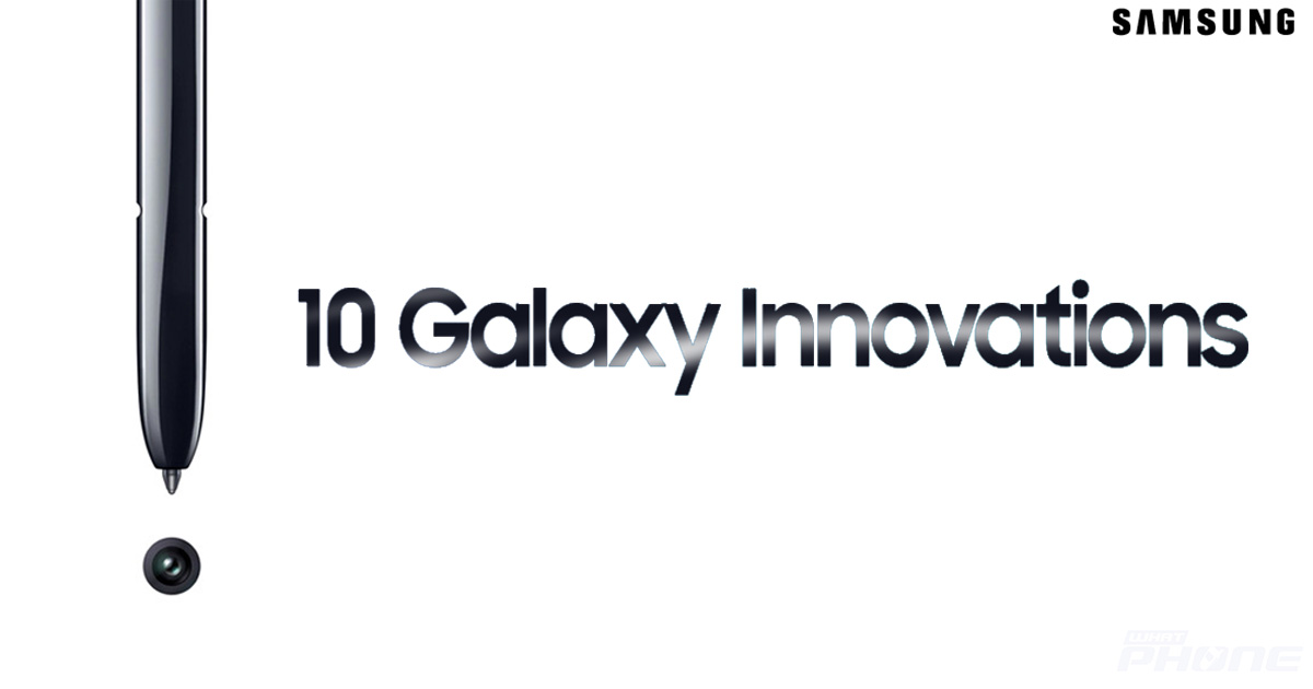10 Highlights innovations of Samsung Galaxy Note Series