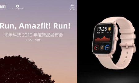 Amazfit Smart Sport Watch 3 is coming