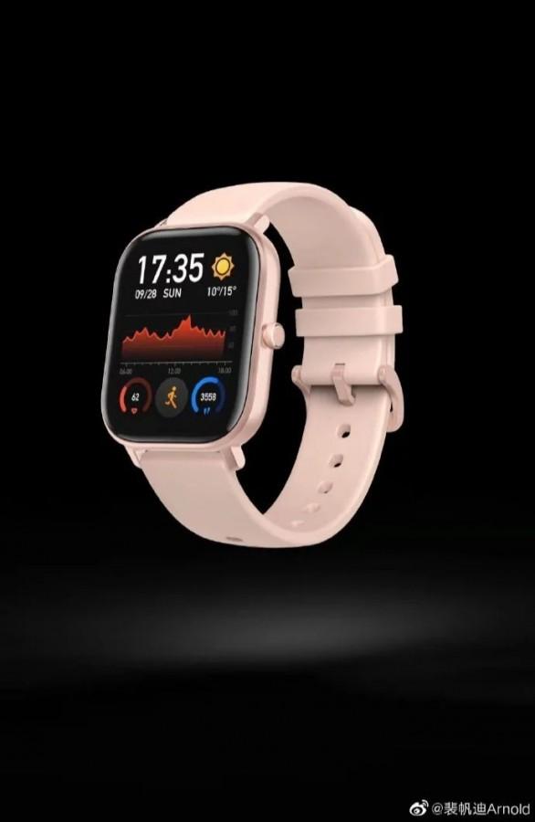 Amazfit Smart Sport Watch 3 leak