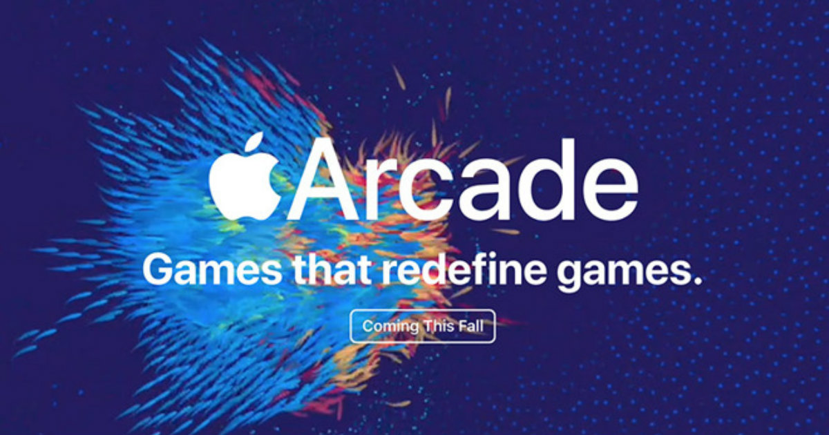 Apple Arcade Header