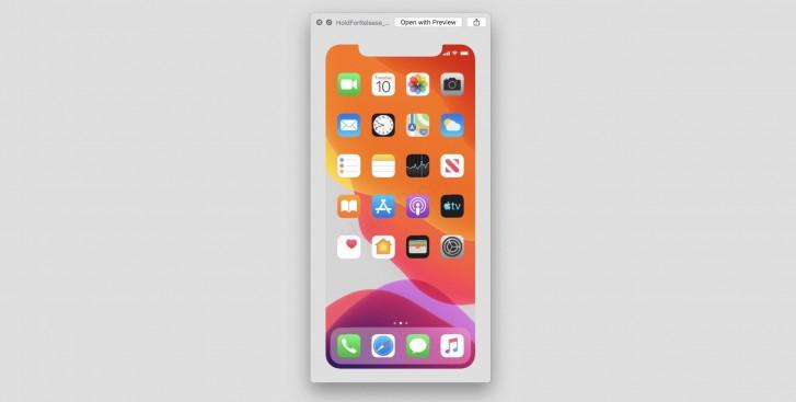 Apple iOS 13 Beta Screenshot