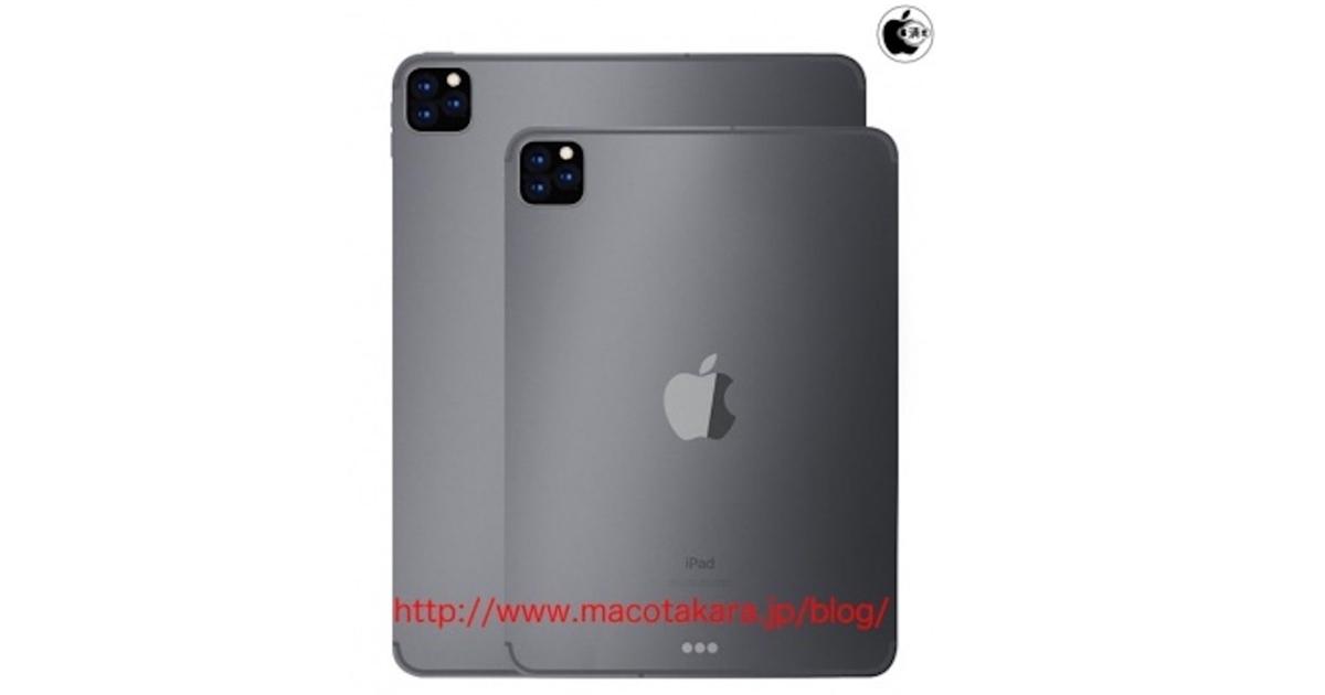 FI iPad Pro 3 cameras leaks