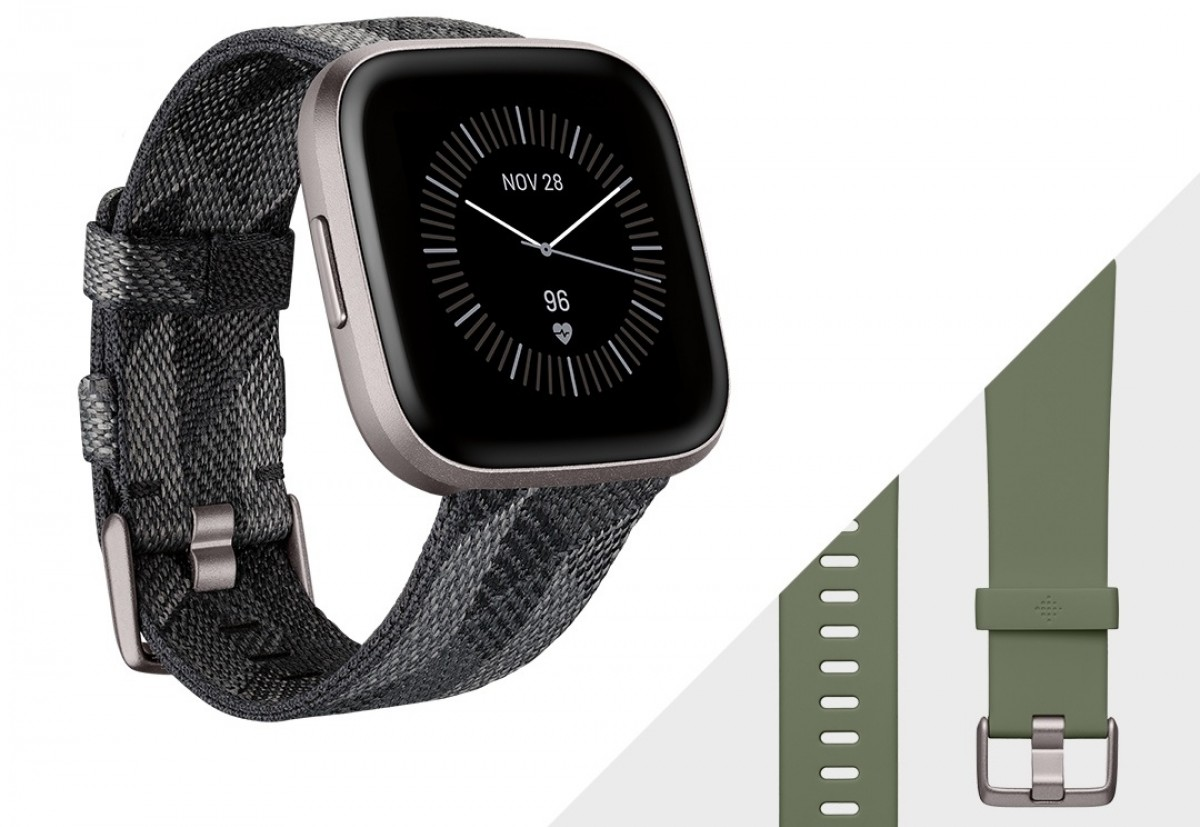 Fitbit Versa 2 Special Editions – Silver
