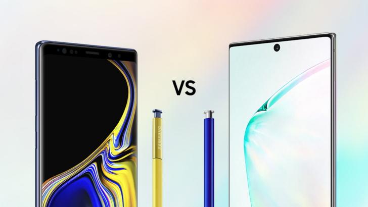 เปรียบเทียบสเปค Samsung Galaxy Note 10+ กับ Galaxy Note 9
