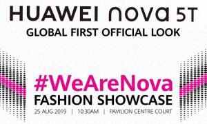 Huawei Nova 5T is coming