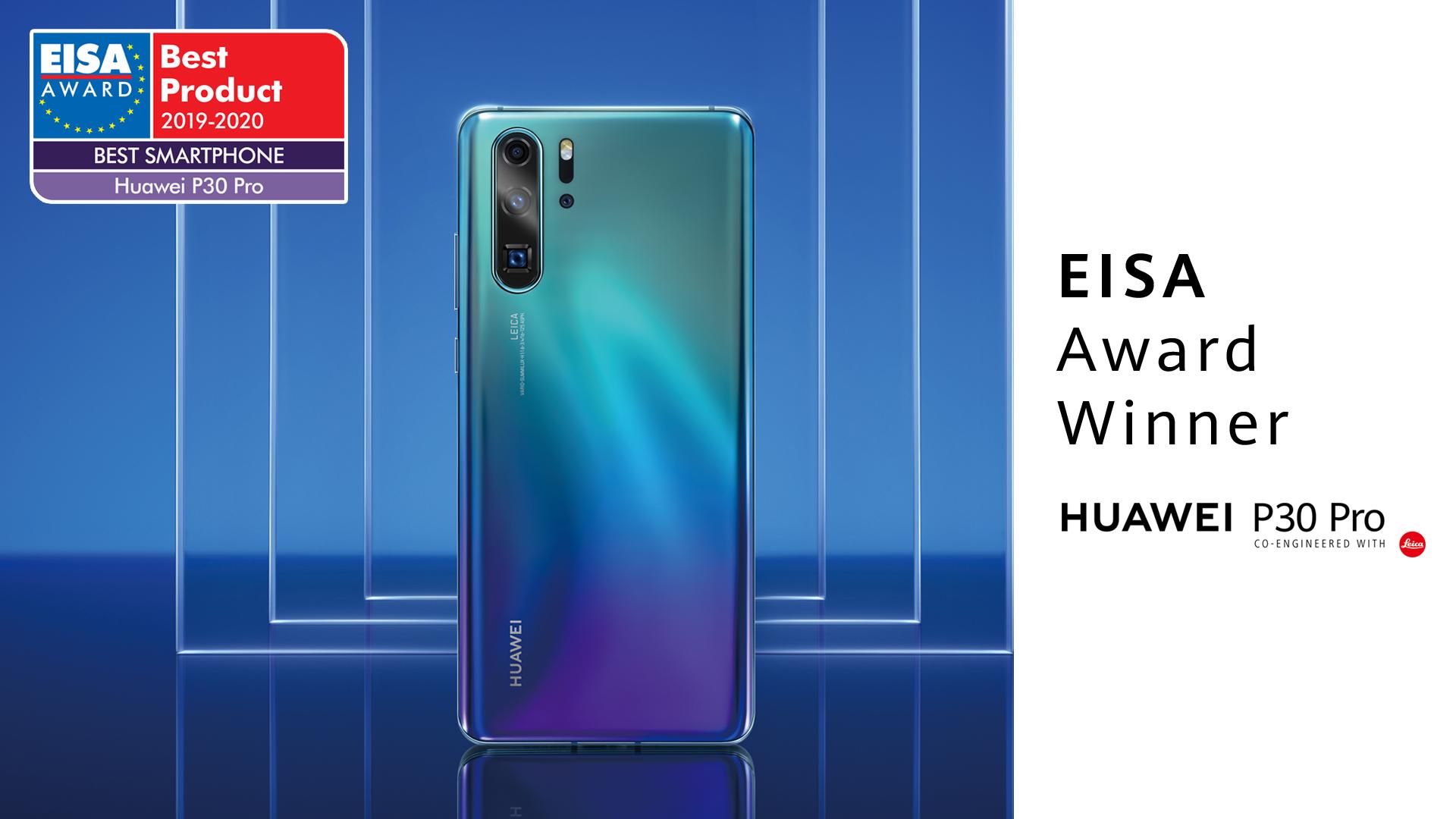 Huawei P30 Pro EISA Awards 2019