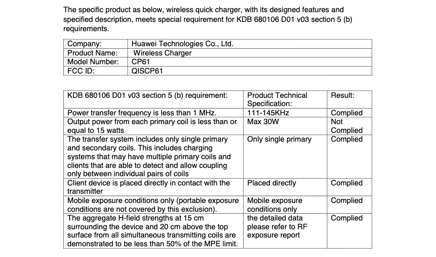 Huawei Wireless Quick Charger 2020