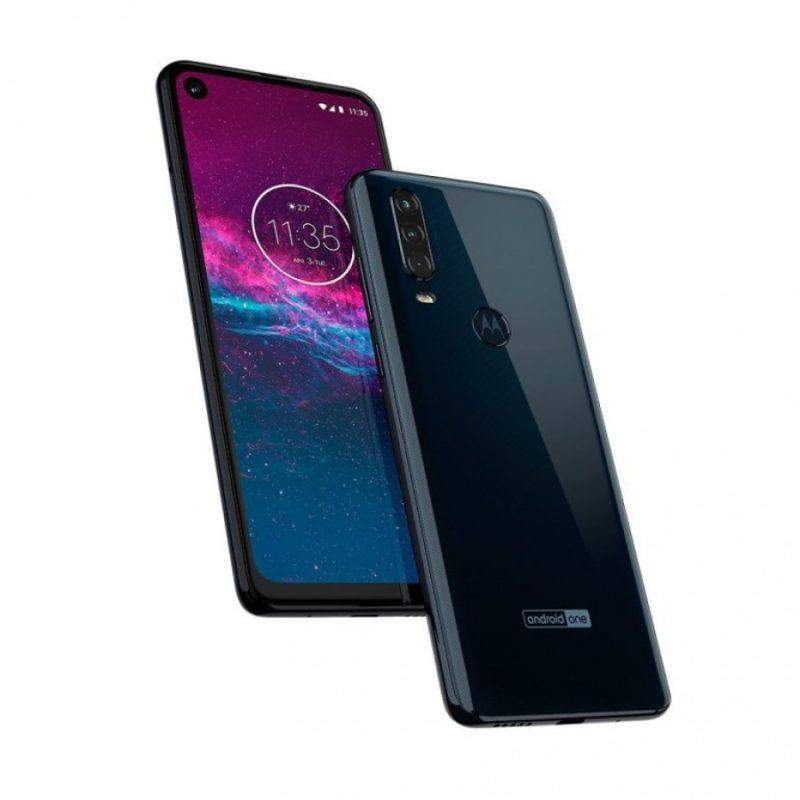 Motorola One Action - Denim Blue