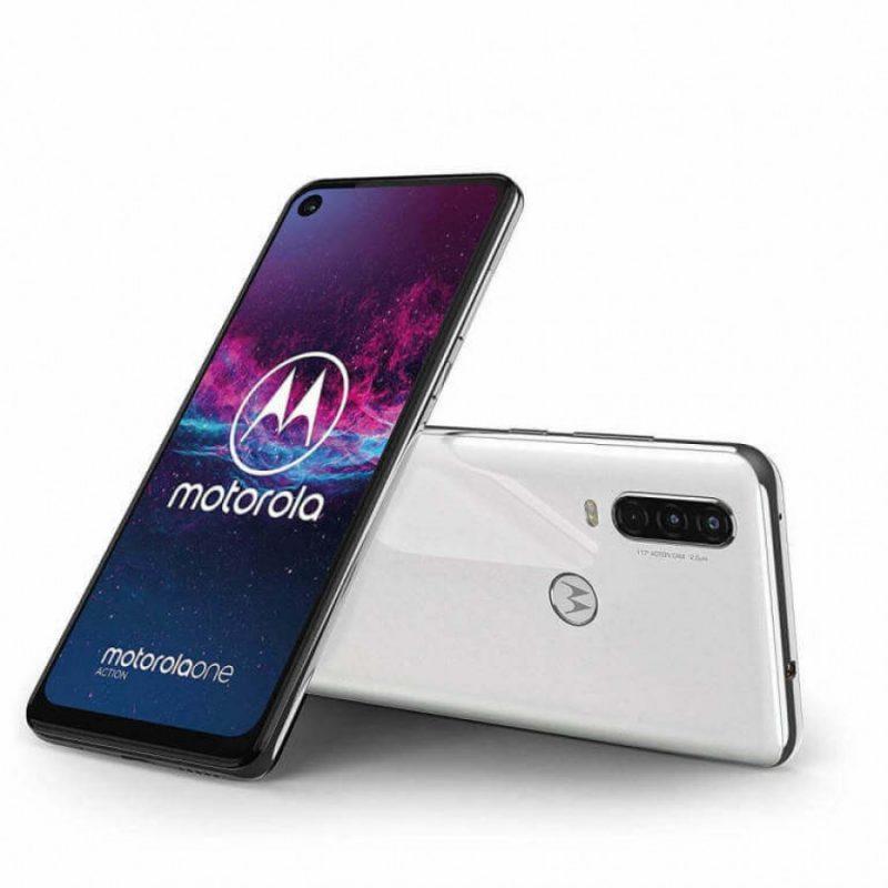 Motorola One Action - Pearl White