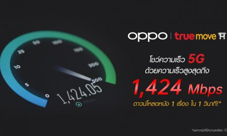 OPPO TrueMove H 5G Test Speed