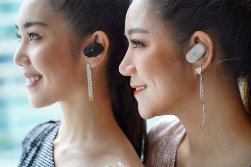 Sony Thailand delivered the wireless WF-1000XM3 headphone