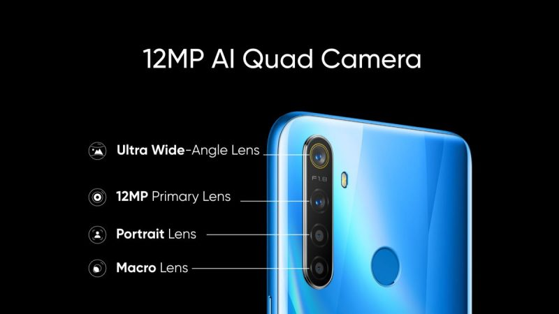Realme 5 - Camera