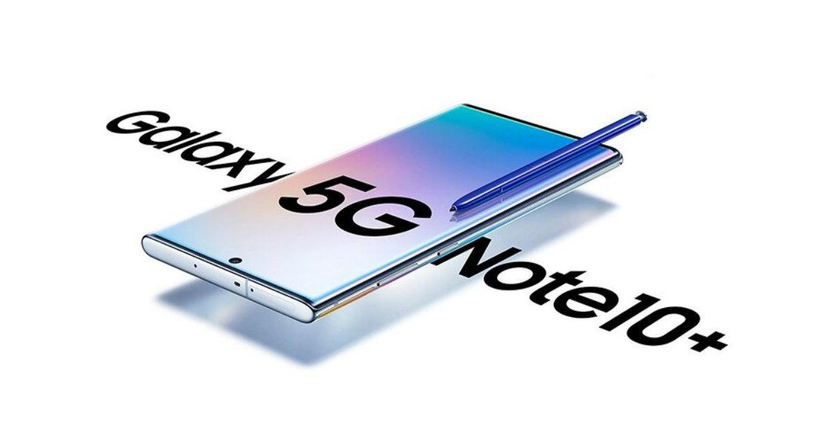 Samsung Galaxy Note 10+ 5G Header