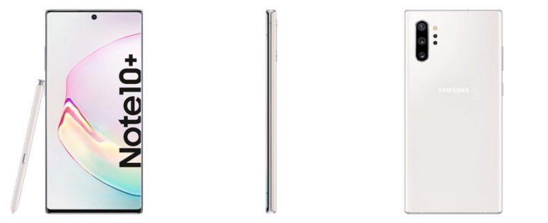 Samsung Galaxy Note 10+ Aura White