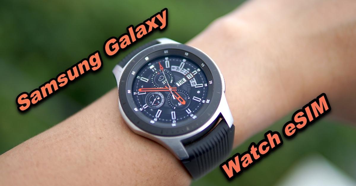 Samsung Galaxy Watch eSIM