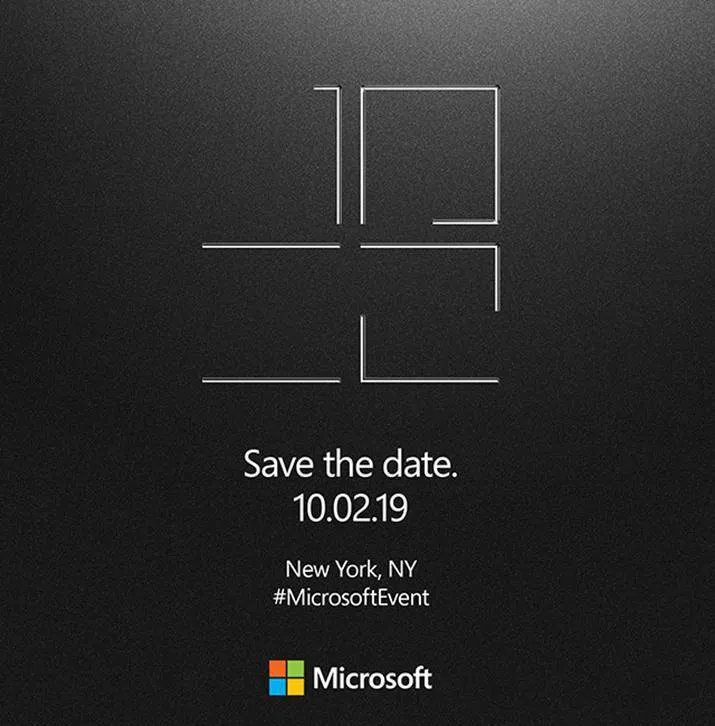 Surface 2019 event