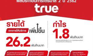 TRUE GROUP REPORTS PROFIT OF BAHT 1.8 BILLION IN 2Q19