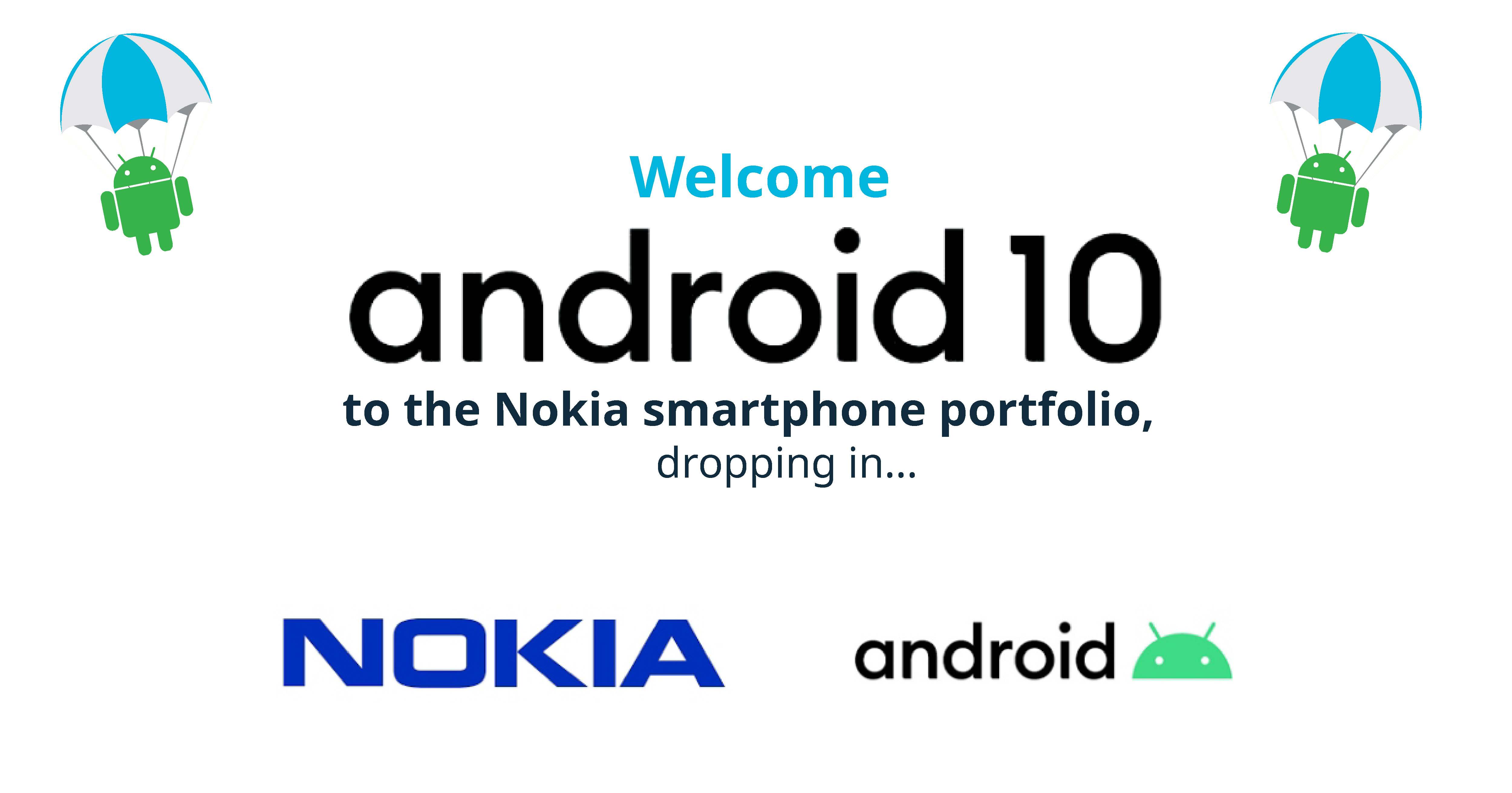 Welcome android 10 to Nokia cover-01