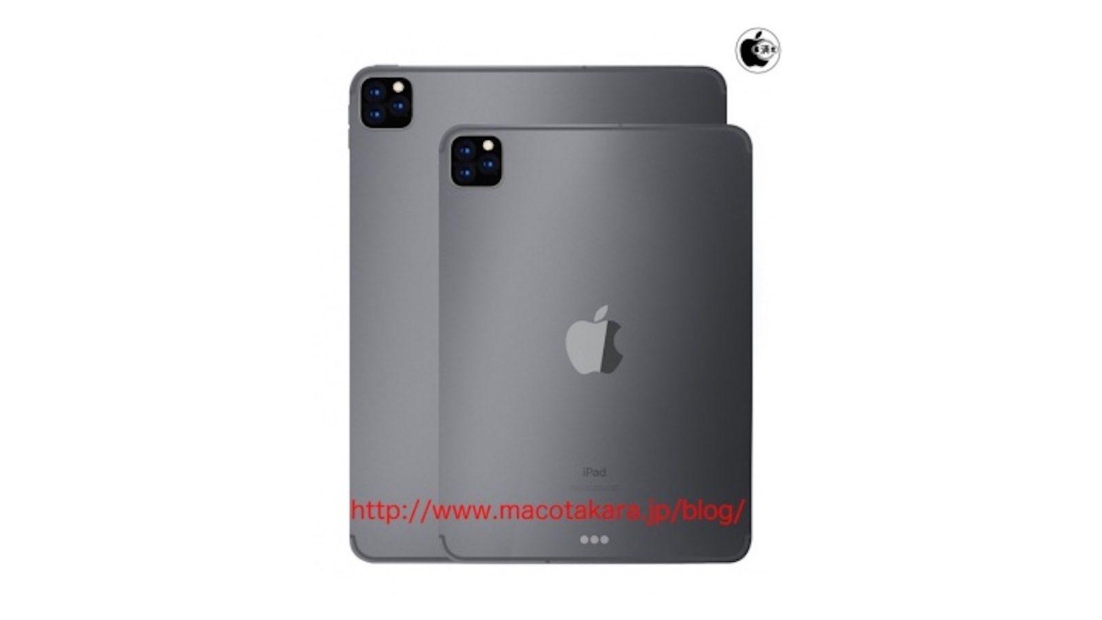iPad Pro 3 cameras leaks 1