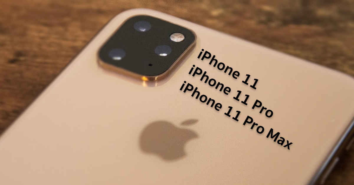 iPhone 11 Series Name
