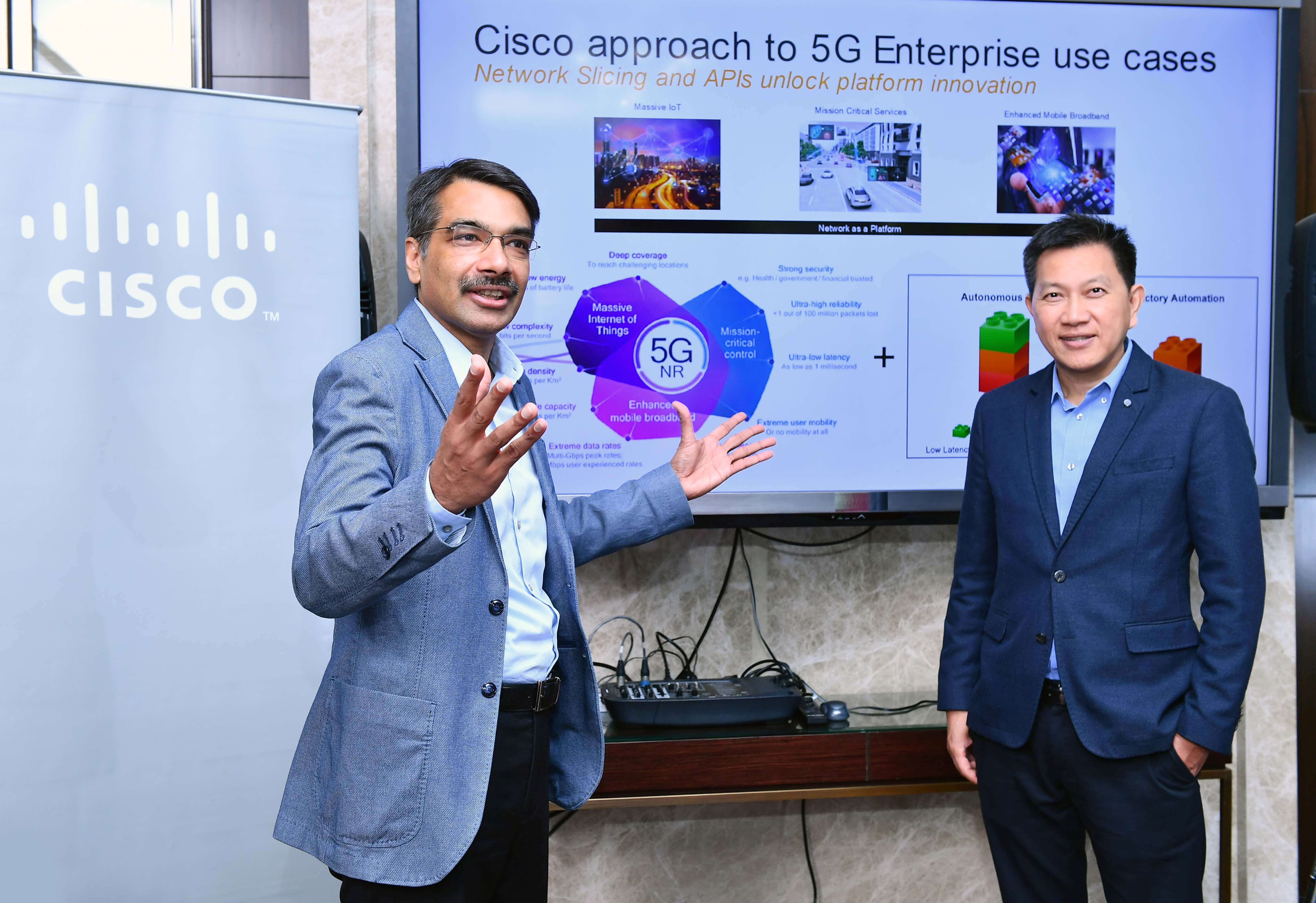 Cisco approach to 5G in asean