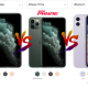 iPhone 11 Pro Max vs iPhone 11 Pro vs iPhone 11