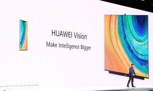 หัวเว่ยเปิดตัว HUAWEI Vision สมาร์ททีวีหน้าจอ 4K ที่มาพร้อมระบบ AI สำหรับการใช้งาน ในงานเปิดตัวสมาร์ทโฟนระดับเรือธง HUAWEI Mate 30 Series ที่มิวนิค ประเทศเยอรมัน