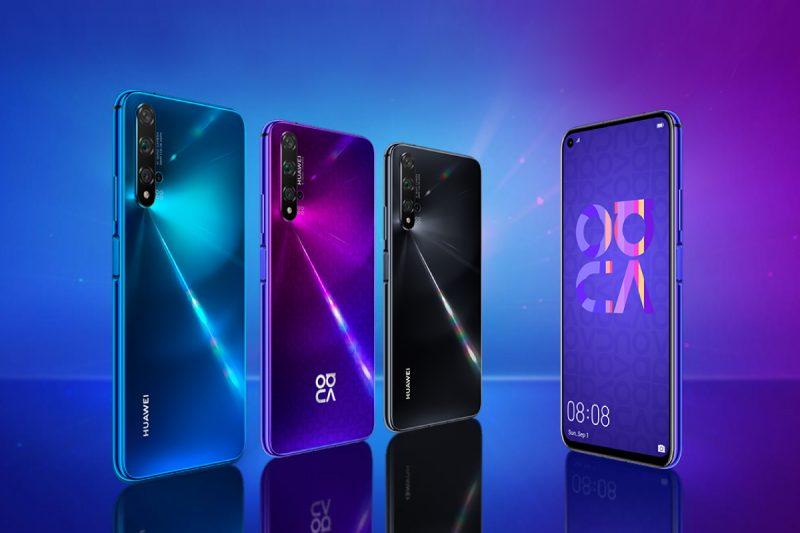 Huawei Nova 5T ดีไซน์