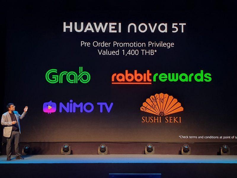 pre-order Huawei Nova 5T