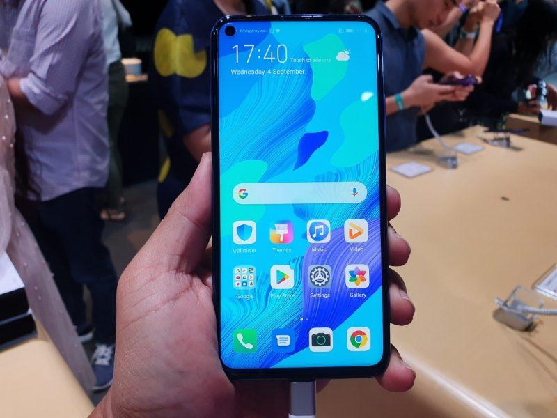 Huawei Nova 5T หน้าจอ