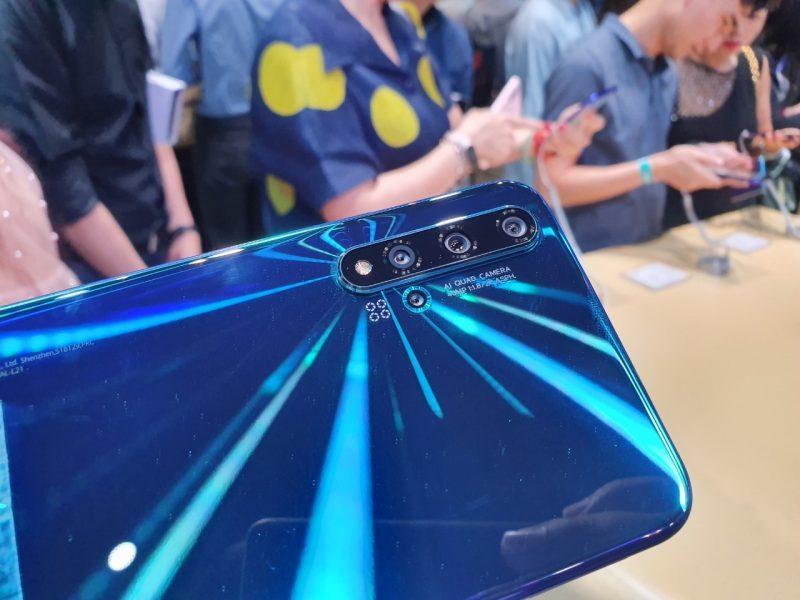 Huawei Nova 5T กล้องหลัง