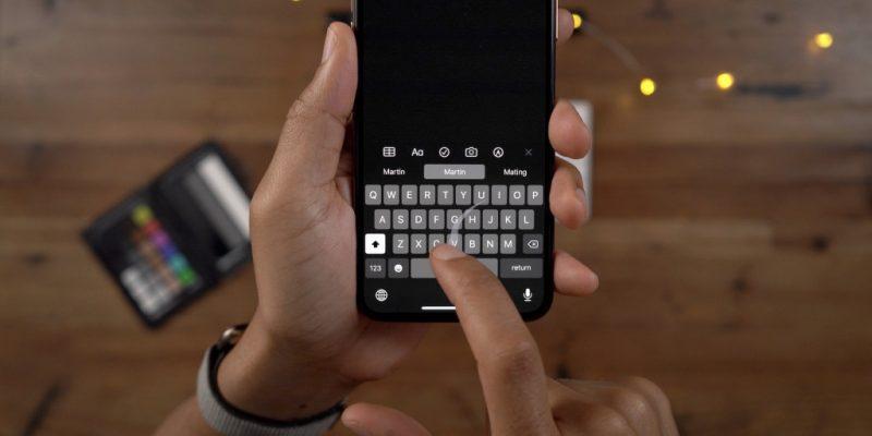 QuickPath Keyboard