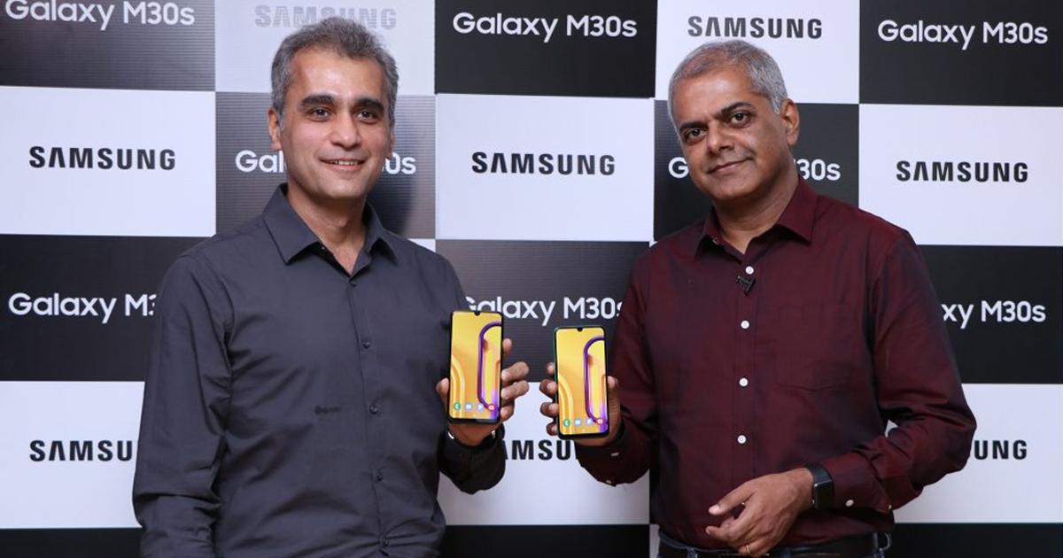 Samsung Galaxy M30s and Galaxy M10s