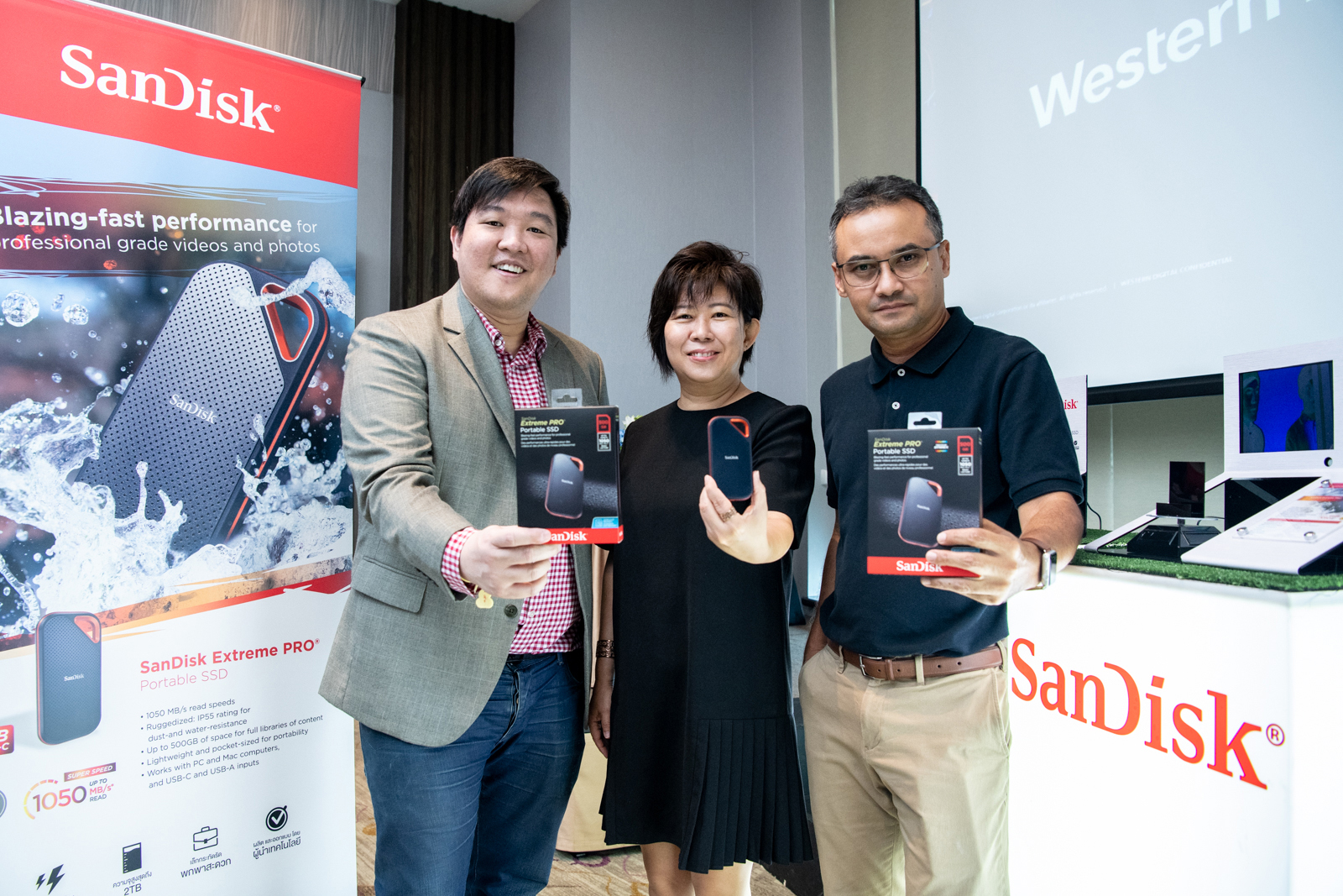 SanDisk Extreme PRO Portable SSD E80 in thailand