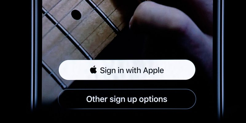 Sign in with Apple ID