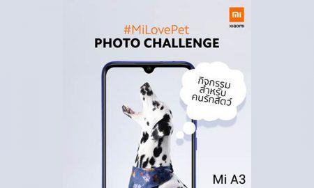 Xiaomi Mi A3 campaign MiLovePet