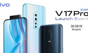 vivo V17 Pro launch event