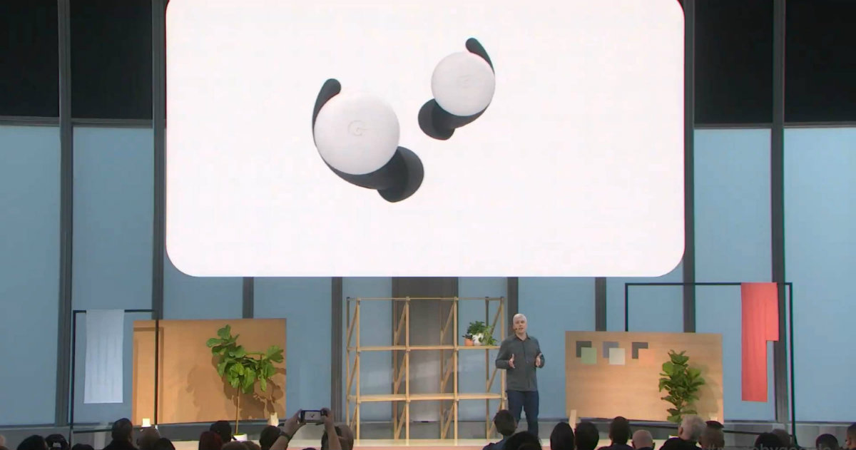 Pixel Buds 2 Made by Google'19