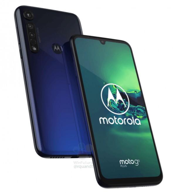 Moto G8 Plus - render