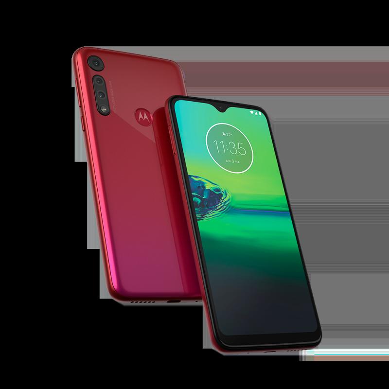 Motorola Moto G8 Play - Magenta Red