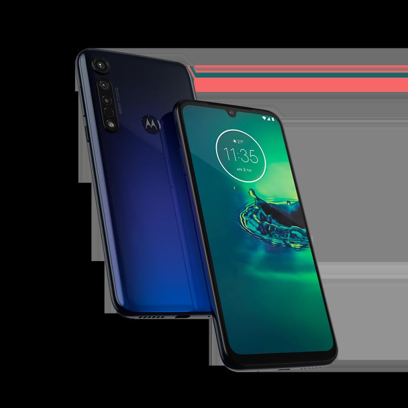 Motorola Moto G8 Plus - Cosmic Blue