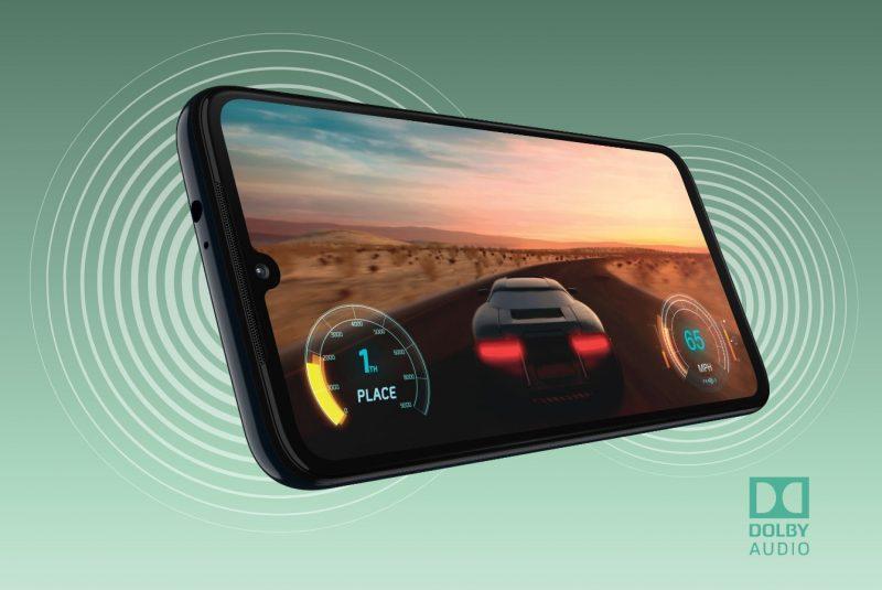 Motorola Moto G8 Plus with Stereo Speaker