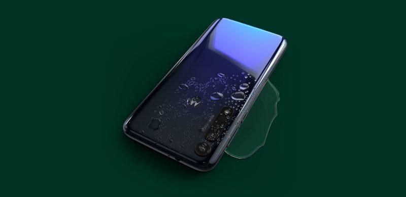 Motorola Moto G8 Plus with waterproof
