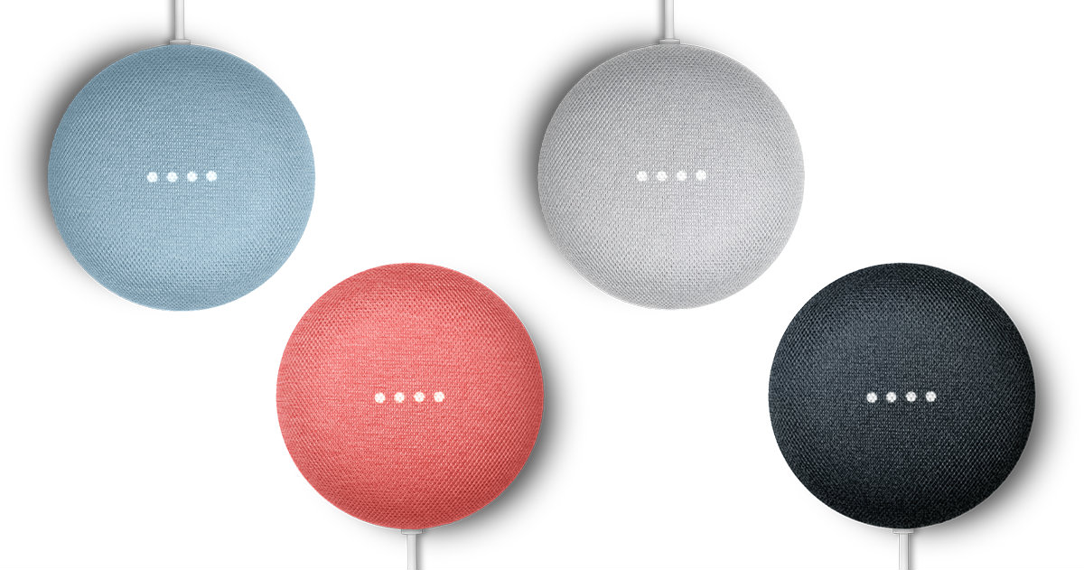 Nest Mini Made by Google'19