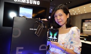 Samsung Galaxy Fold Be the first in thailand