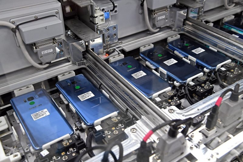 Samsung Smartphone factory