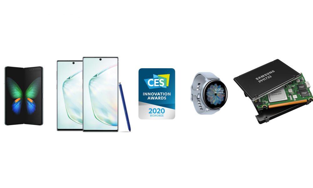 samsung wins 46 ces 2020 innovation awards