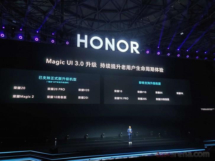 Honor Magic UI 3.0 Android 10